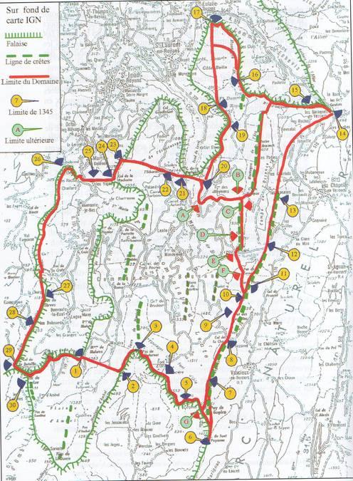 Visuel 1/6 : Le territoire des Chartreux du Val Sainte-Marie