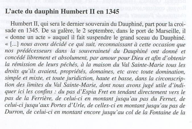 Visuel 3/6 : Le territoire des Chartreux du Val Sainte-Marie