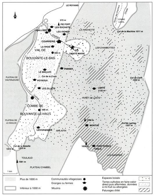 Visuel 5/6 : Le territoire des Chartreux du Val Sainte-Marie