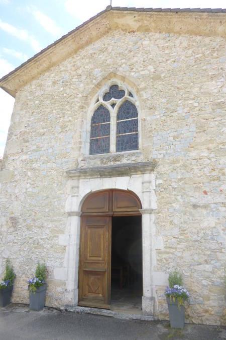 Visuel 2/3 : Portail et fenêtre (Eglise Saint-Martin)