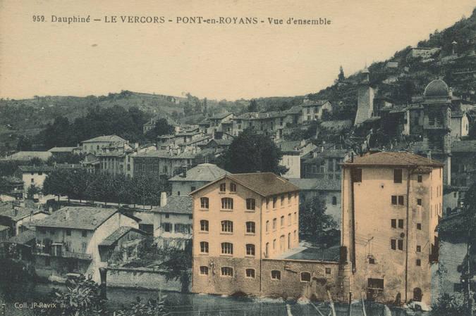 Visuel 1/1 : 100 années de Fabrication d'appareillages électriques à Pont-en-Royans
