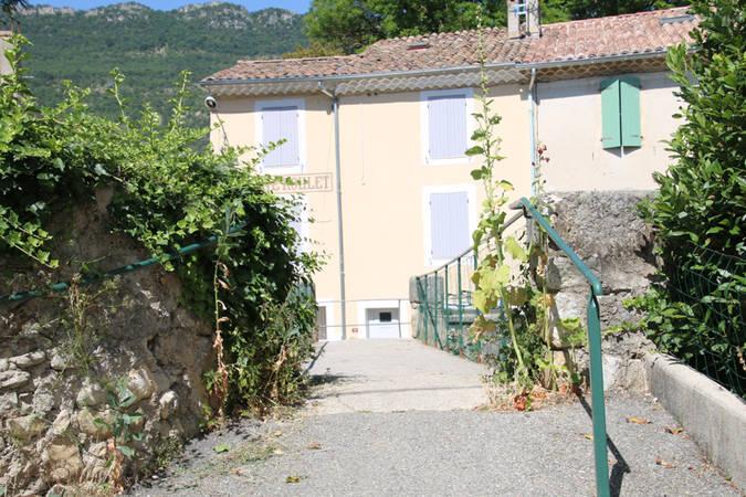Visuel 1/2 : Quartier des moulins (moulin, passerelle, maison Urtin)