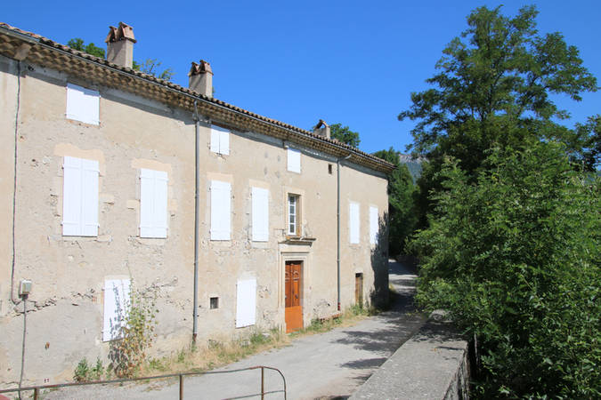Visuel 2/2 : Quartier des moulins (moulin, passerelle, maison Urtin)