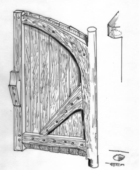 Visuel 1/1 : Porte sud du château et chemin de ronde