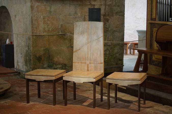 Visuel 1/1 : Abbaye : le mobilier contemporain