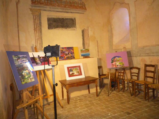 Visuel 1/1 : Exposition de peintures et collages (JEP)