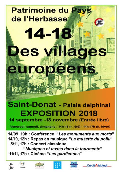 Visuel 1/1 : 14/18 Des villages européens