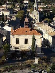 Visuel 1/1 : Ancienne mairie et fontaine Véran Molinas