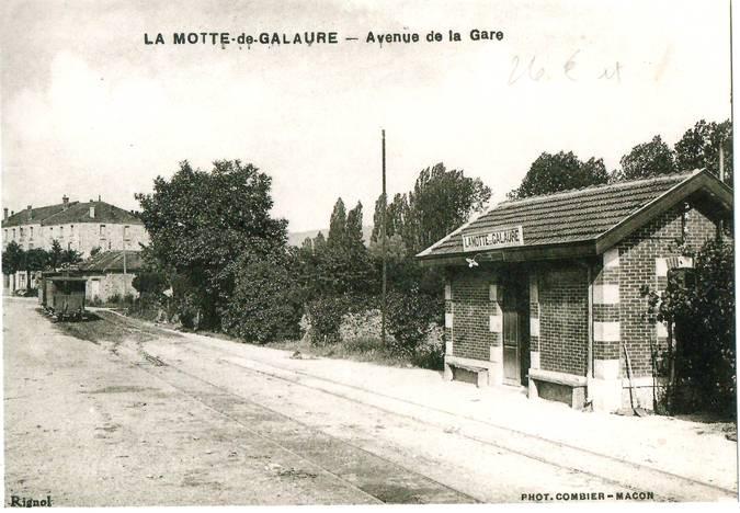 Visuel 1/1 : Gare ancien Tramway de la Galaure