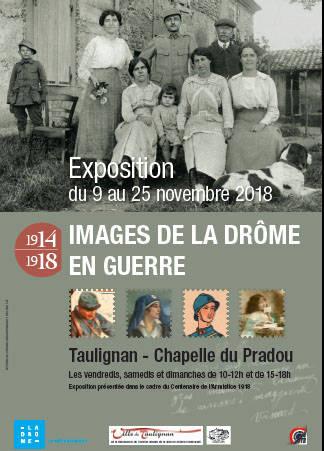 Visuel 1/1 :  Exposition  : 1914-1918 : Images de la Drôme en guerre