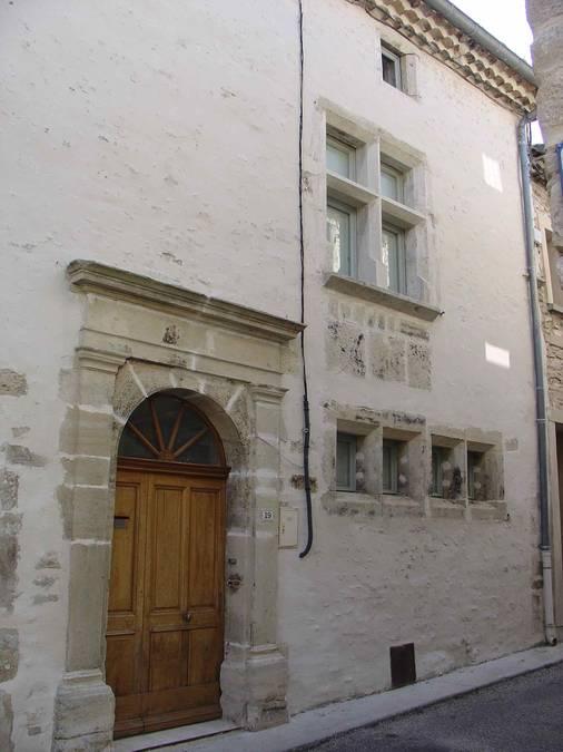 Visuel 1/1 :  Maison noble XVe-XVIe siècle, Bourg castral