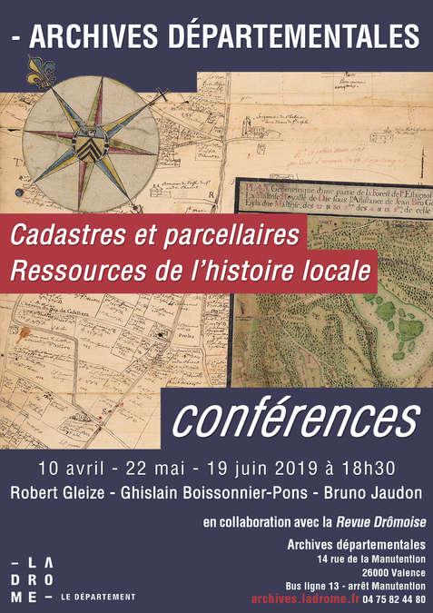 Visuel 1/1 : Cadastres et parcellaires Ressources de l'histoire locale