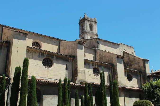 Visuel 1/4 : Église collégiale Sainte-Croix