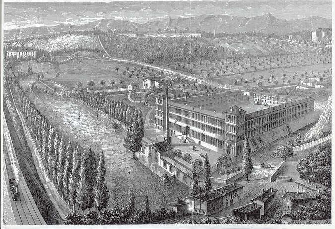 Visuel 1/2 : Une ancienne manufacture d'impression sur indiennes (la Cartoucherie)