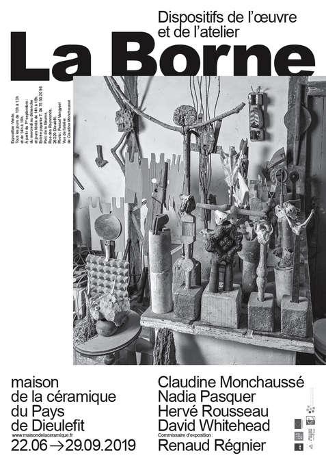 Visuel 1/3 : La Borne, dispositifs de l'oeuvre et de l'atelier
