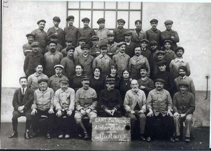 Visuel 2/2 : La Cartoucherie nationale pendant les deux guerres mondiales
