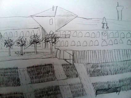 Visuel 5/8 : La cour de l'utopie retrouvée : un jardin archictecturé (la Cartoucherie)