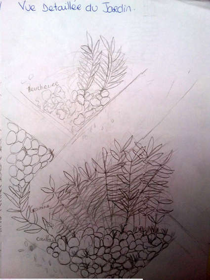 Visuel 4/8 : La cour de l'utopie retrouvée : un jardin archictecturé (la Cartoucherie)