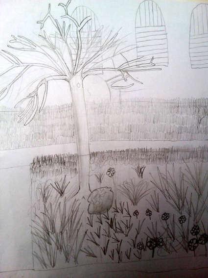 Visuel 6/8 : La cour de l'utopie retrouvée : un jardin archictecturé (la Cartoucherie)