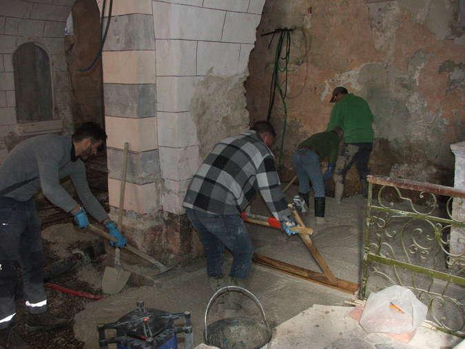 Visuel 4/12 : Avancement des travaux de rénovation