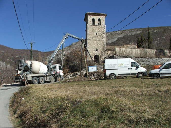 Visuel 5/12 : Avancement des travaux de rénovation