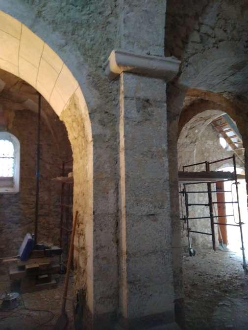 Visuel 9/12 : Avancement des travaux de rénovation