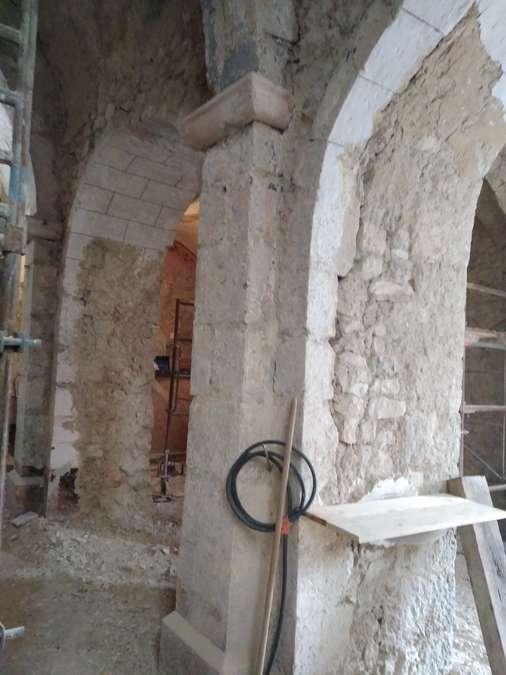 Visuel 10/12 : Avancement des travaux de rénovation