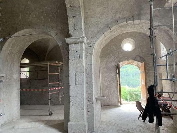 Visuel 11/12 : Avancement des travaux de rénovation