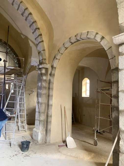 Visuel 13/18 : Avancement des travaux de rénovation