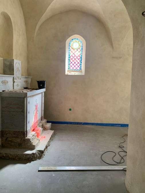 Visuel 21/39 : Avancement des travaux de rénovation