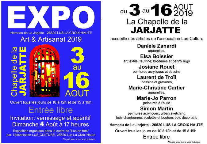 Visuel 2/2 : Expo Art & Artisanat