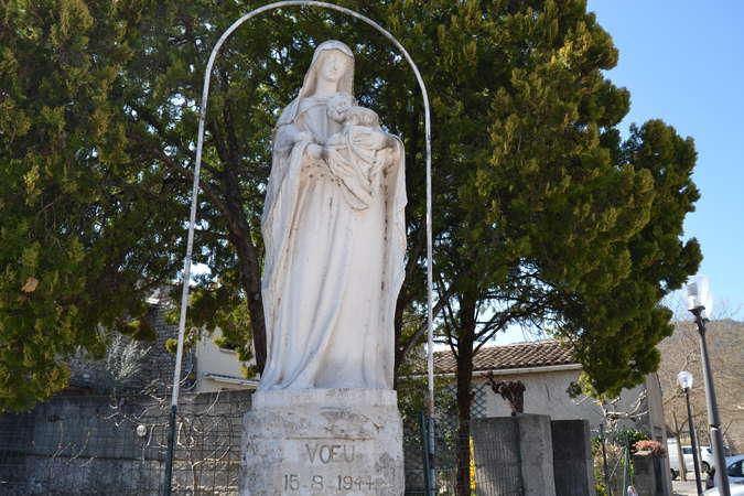 Visuel 1/1 : La vierge du voeu de La Roche De Glun