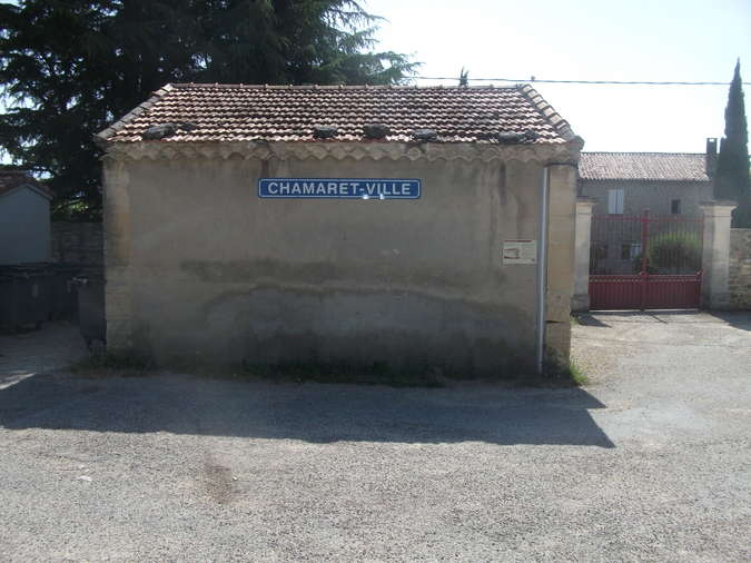 Visuel 1/2 : Halte des voyageurs Chamaret ville