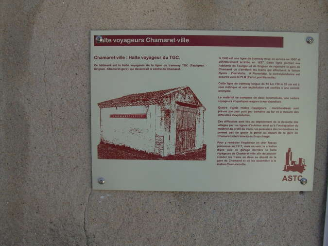Visuel 2/2 : Halte des voyageurs Chamaret ville