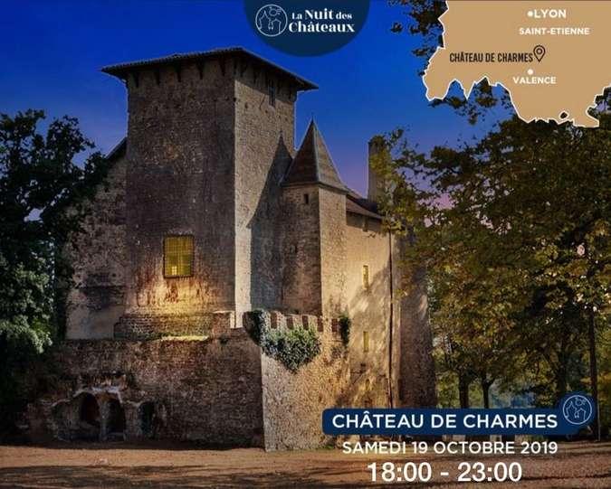 Visuel 1/1 : Nuit au Château de Charmes : Samedi 19 octobre