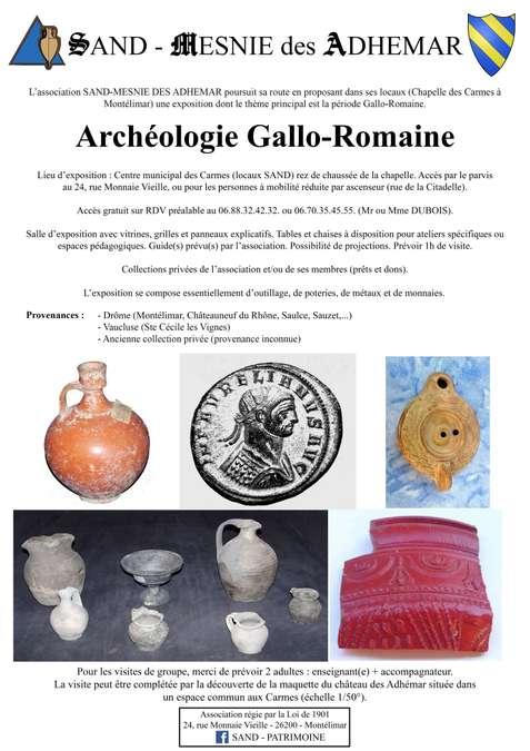 Visuel 2/3 : Exposition sur la civilisation gallo-romaine