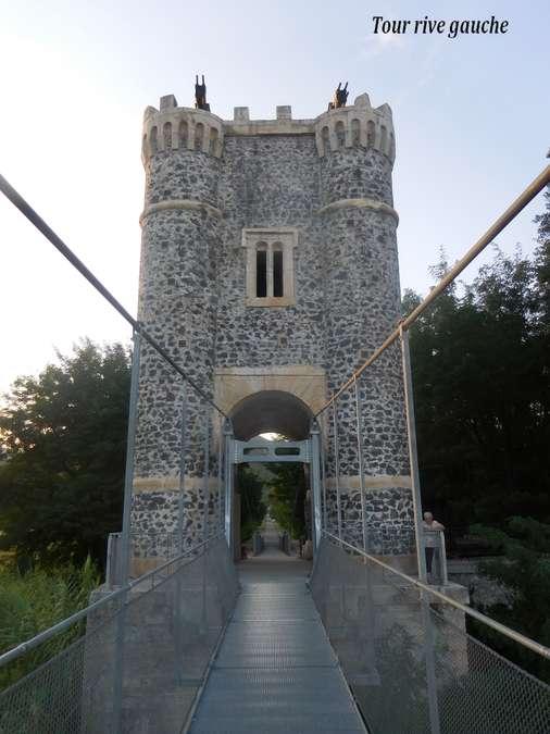 Visuel 2/9 : Le pont de Rochemaure