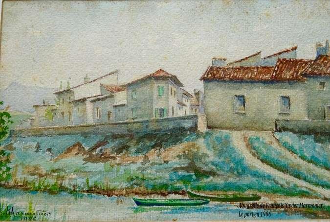 Visuel 2/10 : L'ancien port au temps du halage - Les Anneaux
