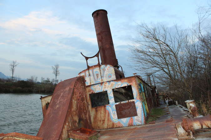Visuel 3/4 : Le toueur : monstre de fer et d'acier
