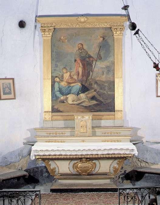 Visuel 3/4 : Chapelle Saint-Roch et son mobilier