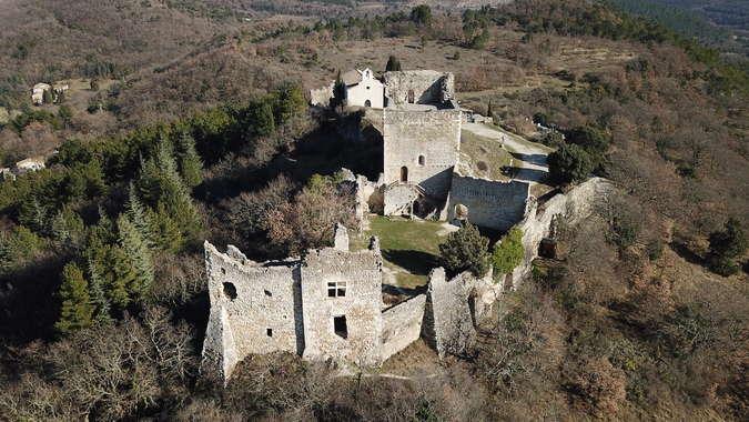 Visuel 1/1 : Chateau de Rochefort en Valdaine