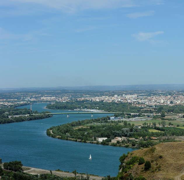 Visuel 1/5 : Le fleuve Rhône