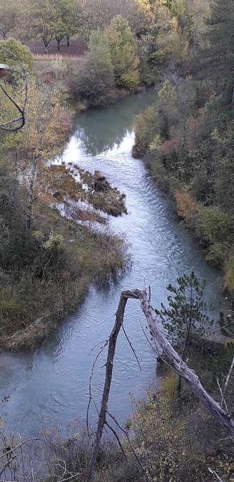 Visuel 2/2 : La rivière Drôme