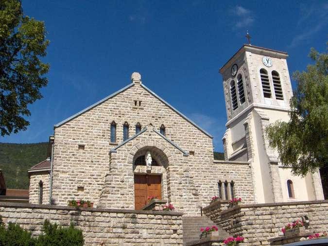 Visuel 1/5 : Eglise paroissiale Notre-Dame-de-l'Assomption