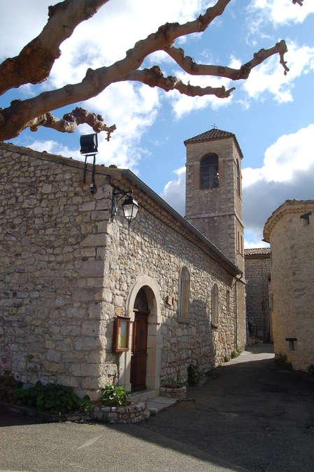 Visuel 1/1 : Eglise Saint Pierre de Villeperdrix