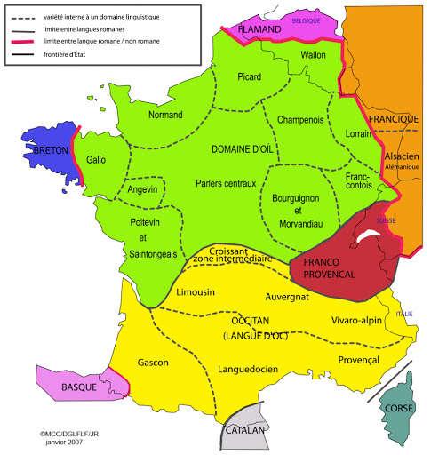 Visuel 1/2 : Les parlers de la Drôme