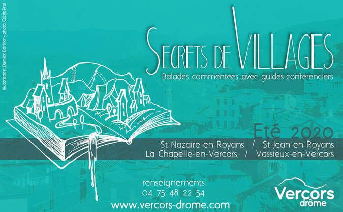 Visuel 1/1 : Visite guidée de St Nazaire en Royans