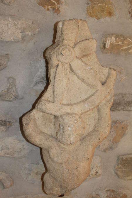 Visuel 1/2 : Autel (fragmentaire) de Jupiter, dieu à la roue