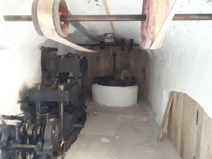 Visuel 1/1 : Visite du moulin de Saoû (JEP)