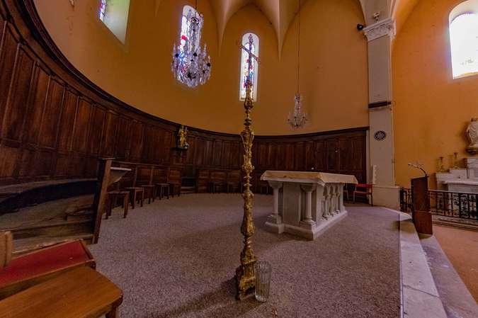 Visuel 4/10 : L'Eglise catholique de Bourdeaux